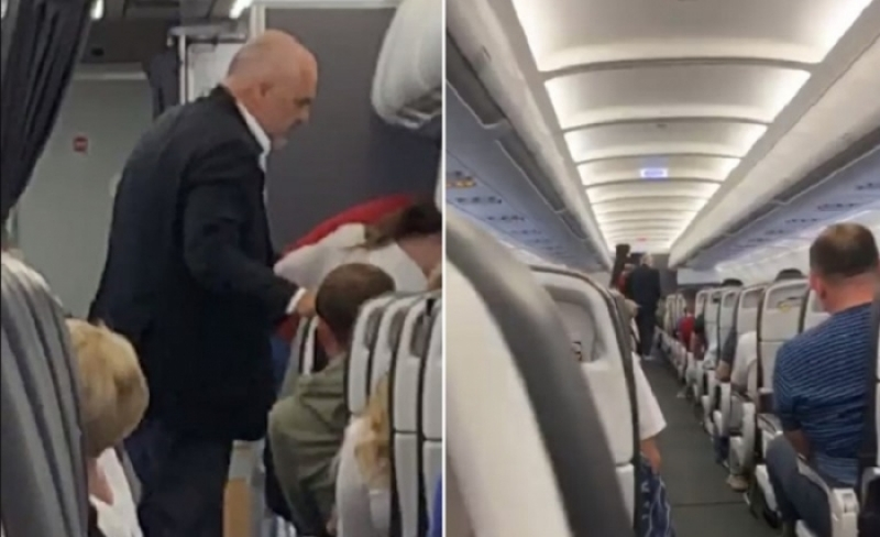 Berisha poston videon: Ramës nuk iu ndanë as në avion. Fitore!
