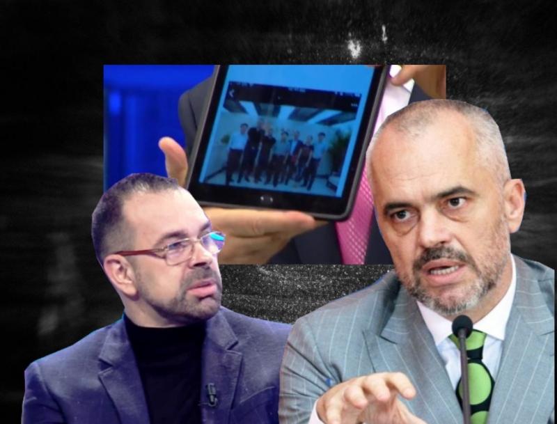 Berisha tregon foton e Olsi Ramës me përgjegjësit e grabitjes në Rinas