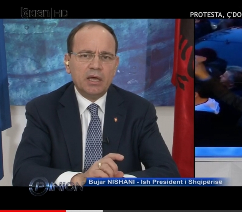 Bujar Nishani: Nuk kanë asnjë program dhune nga protestuesit