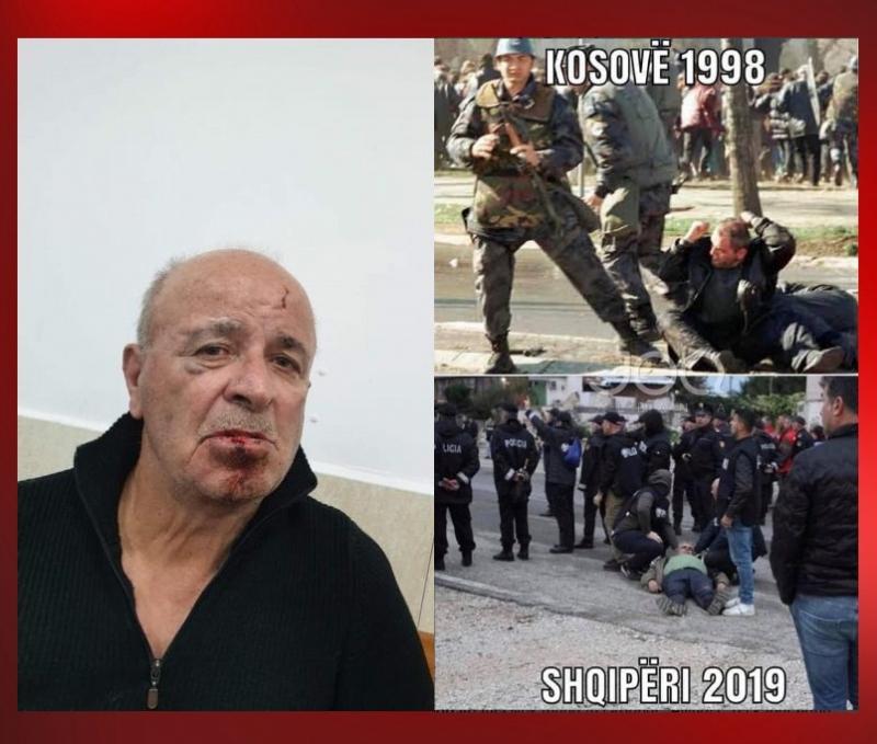 """Foto nga """"Astiri""""/ Shkopinj gome dhe gaz lotsjellës, qeveria si serbët mbi Kosovën e 1981"""