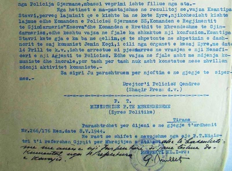 1944/Spiunim komunist ndaj 6 hebrenjve në Tiranë