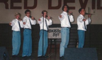 Backstreet Boys festojnë 26 vjetorin