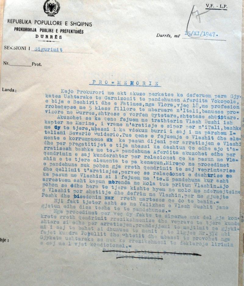 """1947/E fejuara e """"kapter Ramiut"""" dhe burgosja e saj"""