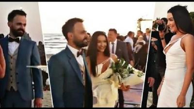 Ja kush e kapi buqetën te dasma e Jonida Vokshit…