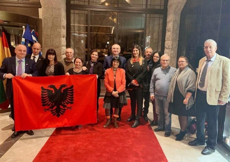 Meta me bashkësinë izraelito-shqiptare në Jeruzalem: I falenderova për kontributin e shkëlqyer për forcimin e marrëdhënieve