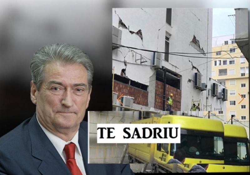 """""""Sadri Abazi, bos kryesor i mafies dhe krimit te ndertimit! Mbrohet nga narkoshteti!"""""""