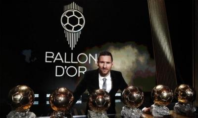 """Fitoi Topin e Artë, Messi: """"Jeni pjesë e këtij çmimi, nuk reshta së ëndërruari"""""""