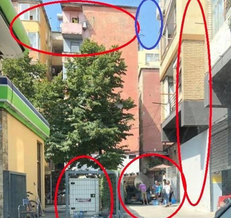 Degjenerimi i Tiranës me 1 foto të vetme