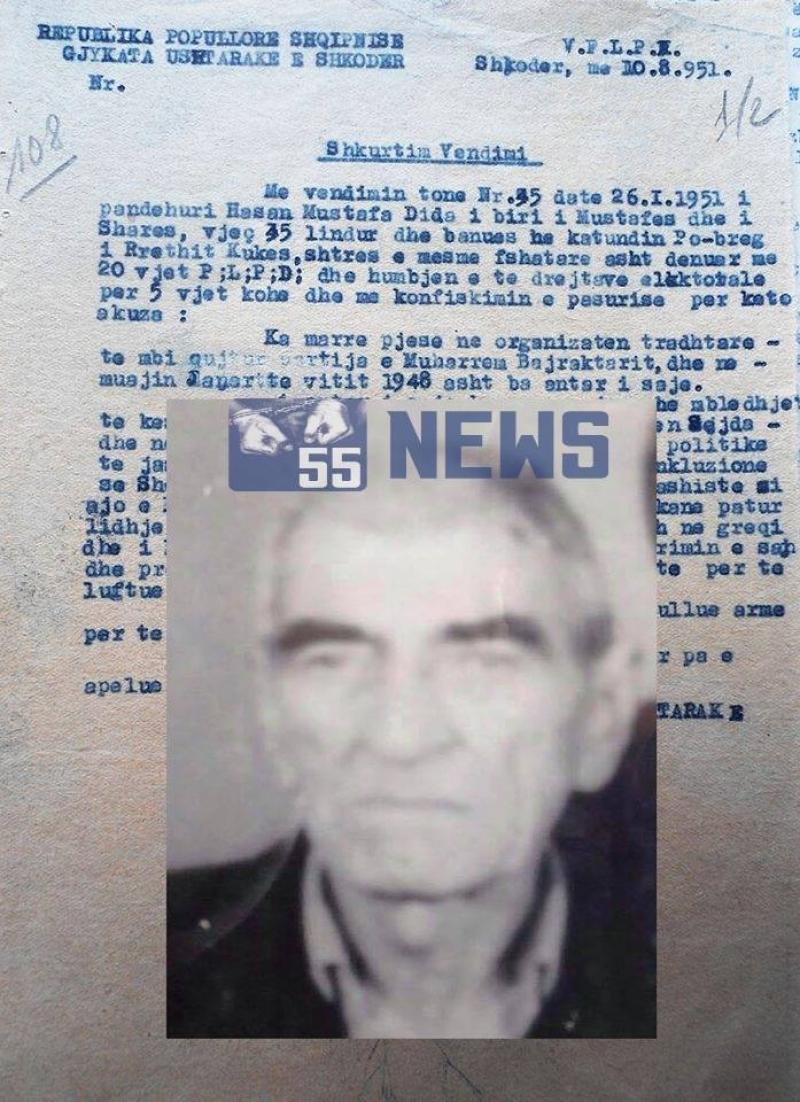37 vjet, 10 muaj e 7 ditë në burgjet e kampet e komunizmit
