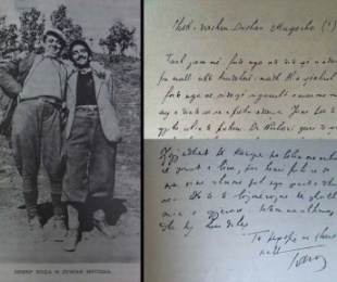 """1944/""""Zbulohet"""" letra që Tarrasi i dërgonte Dushan Mugoshës"""