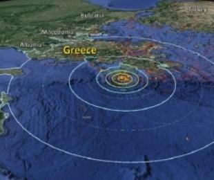 Tërmet me madhësi 4.2 Righter në Kassos të Greqisë