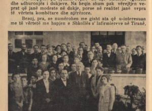Drejtori dhe ente të shtetit shqiptar në vitin 1937