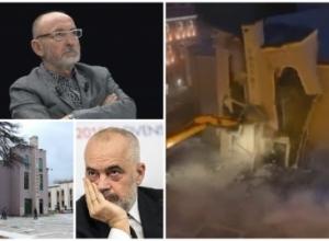 Shqiptarët dhe përbindëshi që shembi Teatrin