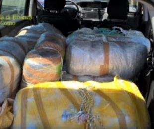 Sekuestrohen 450 kg marijuanë, arrestohen dy shqiptarë