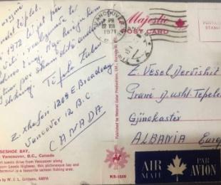Letër që nuk mbërriti në destinacion