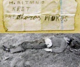 1990/Një letër në xhepin e të vrarit në kufi