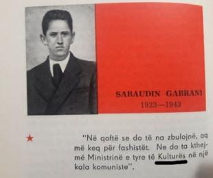 Sabaudin Gabrani, aksioni i shaptilografit dhe paqartësia e fundit të jetës