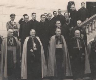 Klerikë katolikë te Mbreti Zog