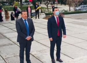 Çlirimi i Shqipërisë/ Ardit Çela homazhe në Berat: Vepra e Dëshmorëve të atdheut e renditi Shqipërinë fituese në Luftën e Dytë Botërore