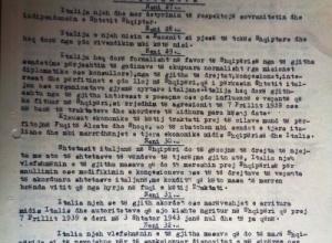 1947/Traktati i paqes me Italinë, Shqipëria nuk ishte palë nënshkruese