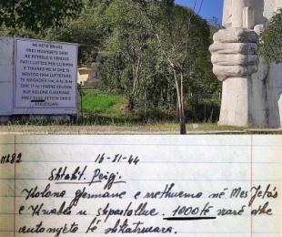 Lapidari në Myshqeta, 2 mijë gjermanë të vrarë dhe 3 brigada mbi planin