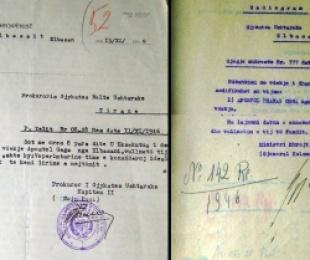 1946/Qëndrimi burrëror i një idealisti para pushkatimit